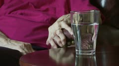 Drink and Arthritis - stock footage