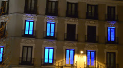 Hotel in the area of Madrid 5 Stock Footage