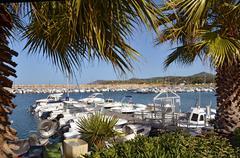 Port of Argelès-sur-Mer in France - stock photo