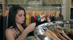 Fashion Choices - stock footage