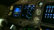 Stock Video Footage of Flight Instruments
