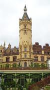 schwerin castle, parliament - stock photo
