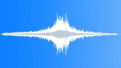 Semi-truck drive-by on cobblestone - sound effect