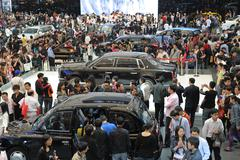 Stock Photo of shanghai international car show 2009