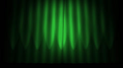 Green Curtain with alpha Stock Footage