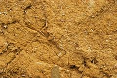 Adobe clay plaster wall Stock Photos