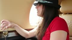 Jetgirl No Pix Stock Footage