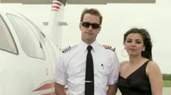 Jetset Couple Stock Footage