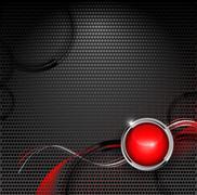 Techno backdrop Stock Illustration