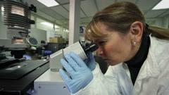 Lab Shock Stock Footage