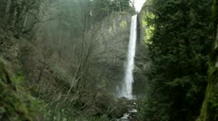 Latourell Falls Stock Footage