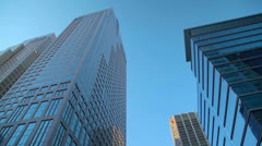 9 Avenue & Bankers Hall Stock Footage