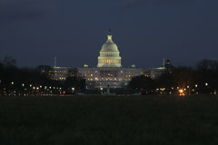 US capitol building timelapse Stock Footage