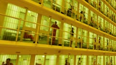 Prison Dolly - stock footage