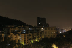 Beitou Rooftop at dawn Stock Footage