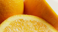 Stock Video Footage of Oranges close up