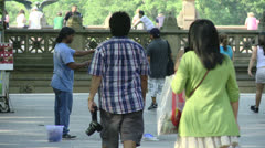 Central Park Stock Footage