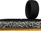 Stock Illustration of Asphalt Road Structure with layers