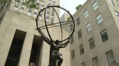 Rockefeller Center Stock Footage