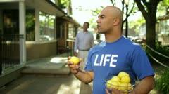 Saying No To Lemons Stock Footage