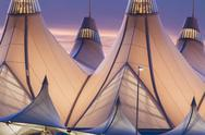 Stock Photo of denver international airport
