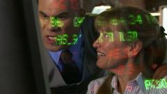 Pleased Traders Stock Footage