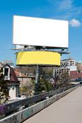 Big billboard Stock Photos