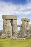 The Stonehenge in England, UK Stock Photos