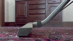 Rug Steamer - stock footage