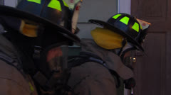 Fire Rescue Entry 1 Stock Footage