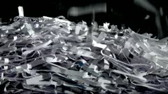 Stock Video Footage of Shred Fill Transitions