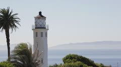 Light House in Los Angeles - stock footage