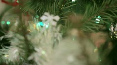 Silver Bauble Dolly - stock footage