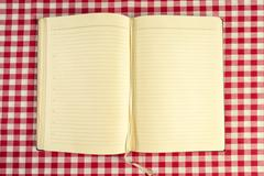 Blank cookbook Stock Photos
