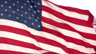 Stock Video Footage of Giant United States Flag