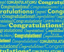 Congratulations - stock illustration