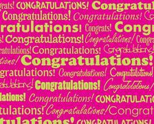 Stock Illustration of Congratulations