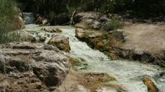 Sulfur Spring - stock footage