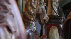 Horse Carousel game Stock Footage