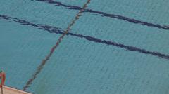 Swimming pool free 2 Stock Footage