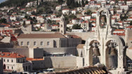 Stock Video Footage of Croatia, Dubrovnik, The Belfry at the City Center