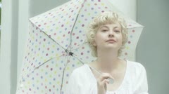 Polka Dot Blonde - stock footage
