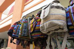 Stock Photo of mexican tote bags