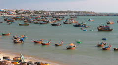 Mui Ne beach, Vietnam Stock Footage