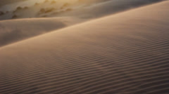 Sandstorm in desert Stock Footage