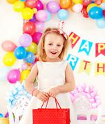 Child birthday party . Stock Photos