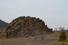 mountains of dinosaurus - stock photo