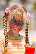 Face paint Stock Photos
