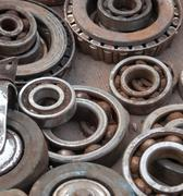 Old ball bearing background Stock Photos
