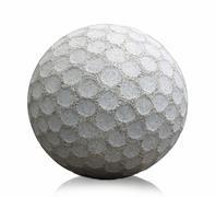 statue golf ball - stock photo